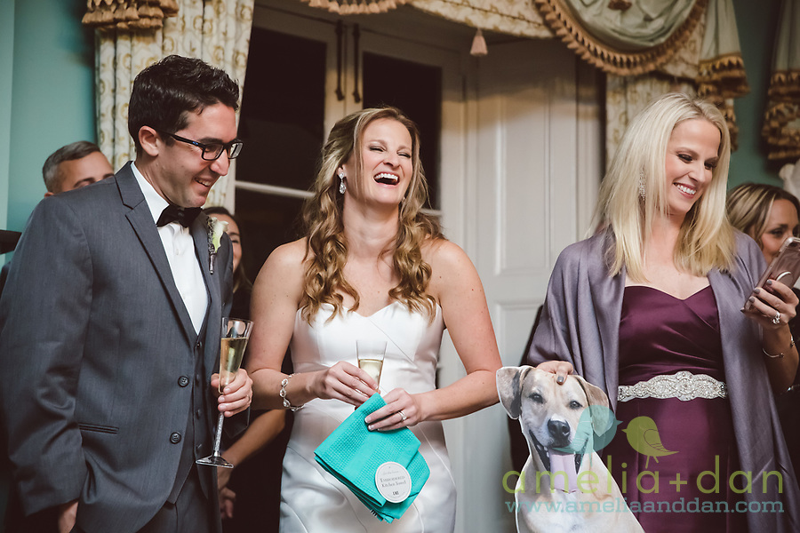 Dog Crashes South Carolina Wedding