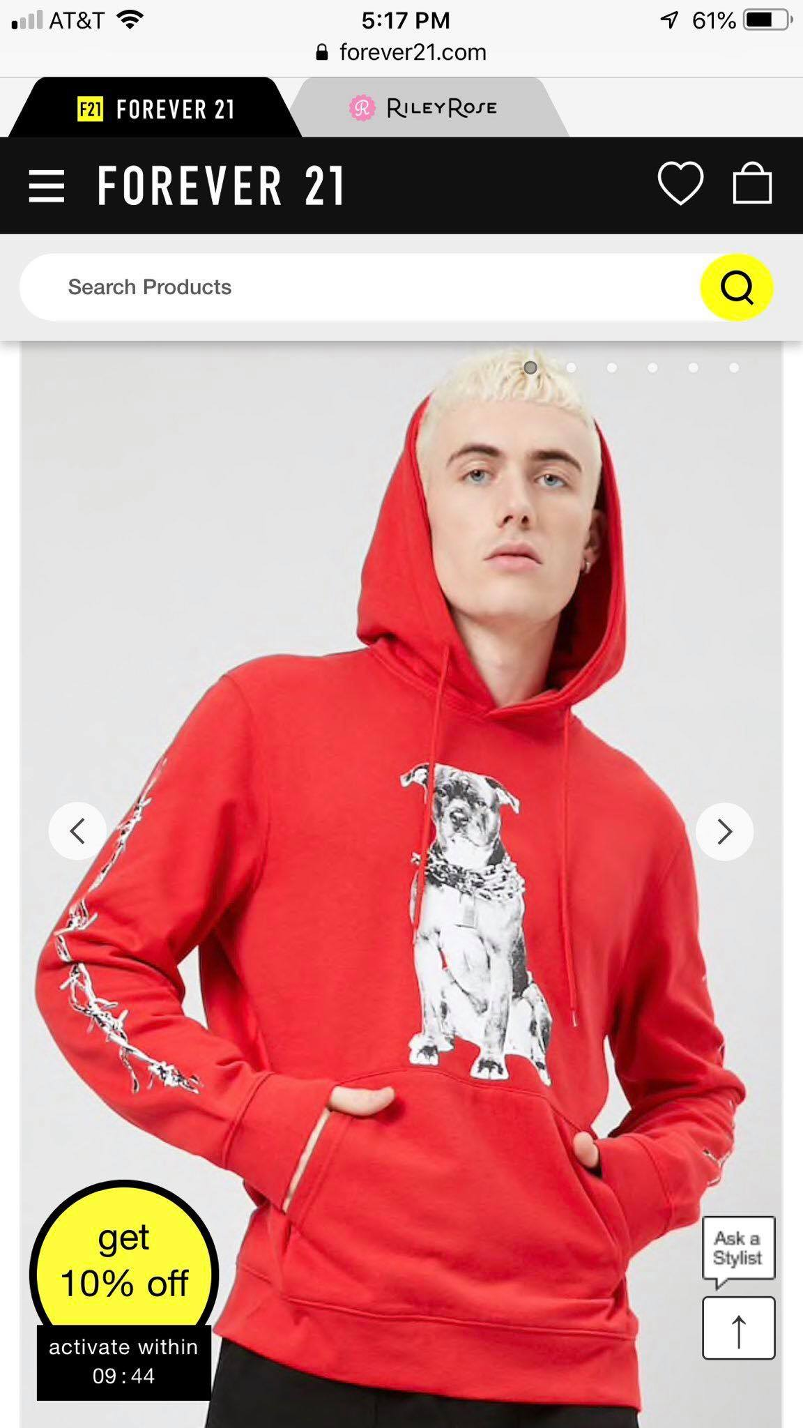 "Forever 21 Missteps and Promotes ""Pit Bull"" Graphic Hoodie"