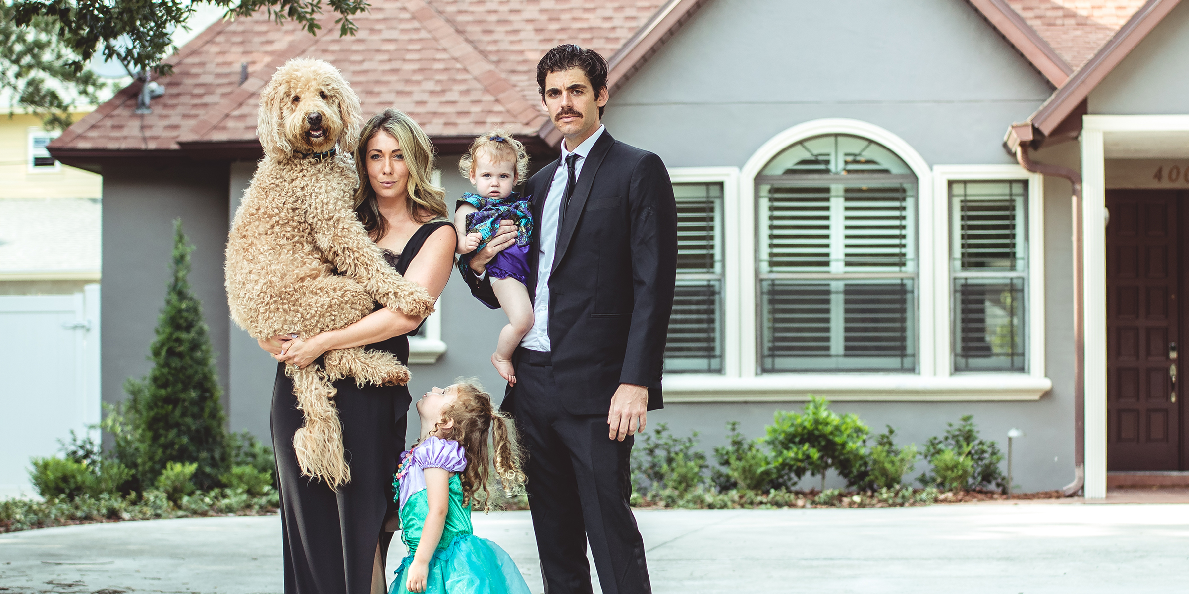 Orlando Front Porch Family and Pet Portraits