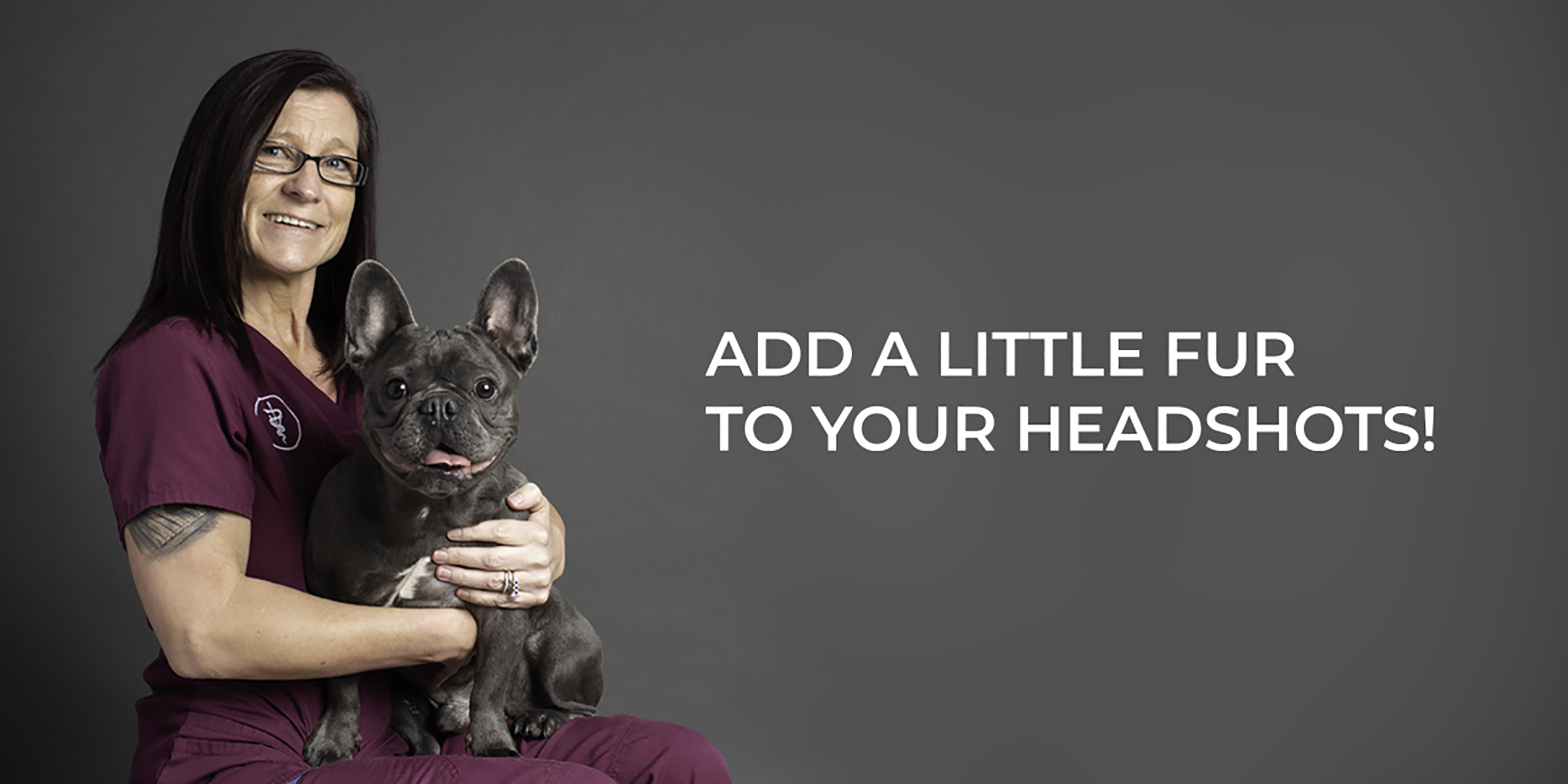 Corporate Headshots with Your Pet